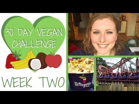 WEEK 2: Can you be Vegan at Alton Towers? | 30 DAY VEGAN CHALLENGE