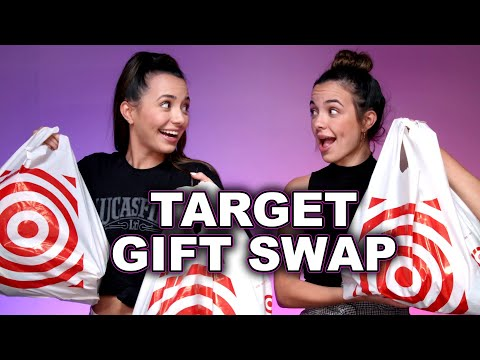 Target Gift Swap Challenge – Merrell Twins