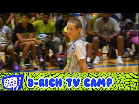 Gabe Cupps Shoots the LIGHTS OUT in Akron - 2017 D Rich TV ...