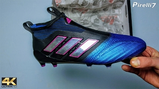 2017 paul pogba boots: adidas ace 17+ purecontrol • unboxing | 4k | by pirelli7