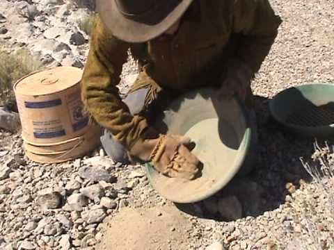 HOW TO DRY PAN | For Desert Gold - Ask Jeff Williams