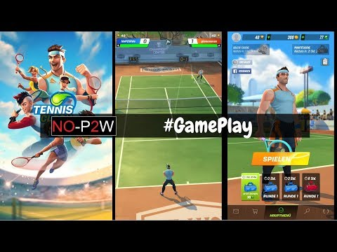 Tennis Clash GamePlay Deutsch
