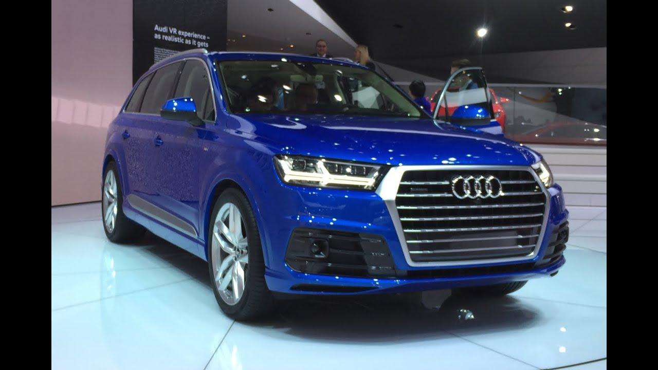 2016 Audi Q7 2015 Detroit Auto Show Fast Lane Daily
