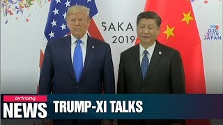 Trump And Xi Agree To Resume Trade Talks