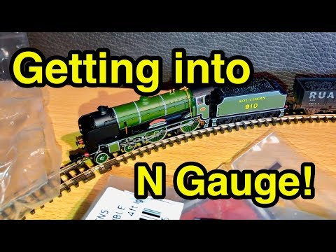 Getting Started With N Gauge Model Railways