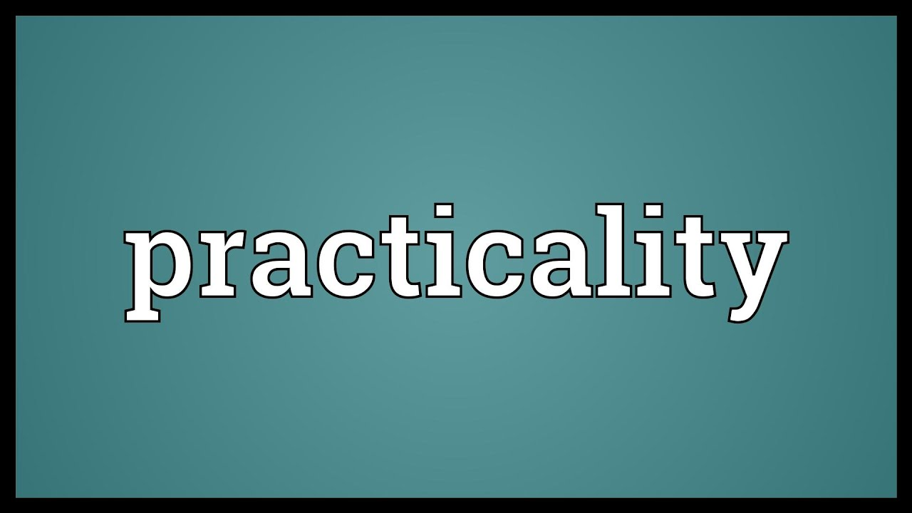 Image result for practicality