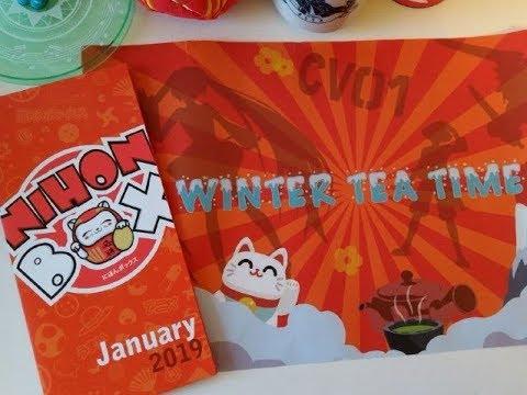 nihonbox winter teatime