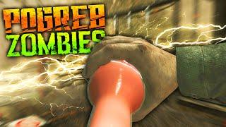 GODMODE & CHEATS | Call of Duty World at War Custom Zombie Map | Pogreb #5