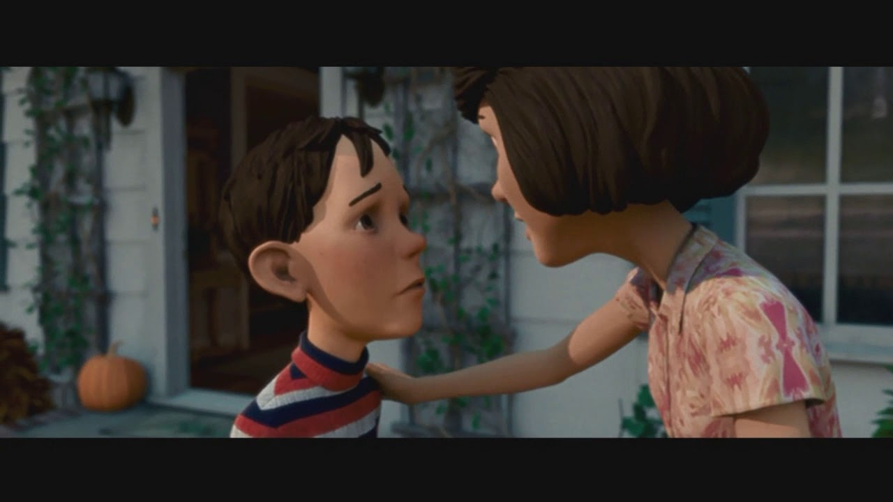 We've talked about this...  - Monster House
