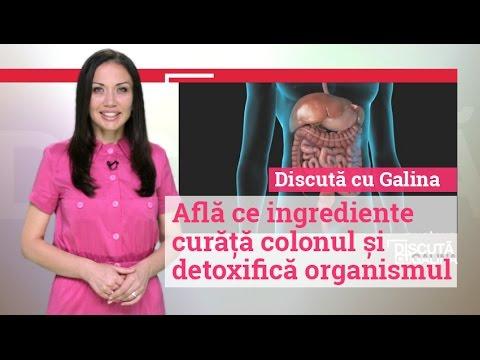 curățarea colonului la detoxifiere acasă)