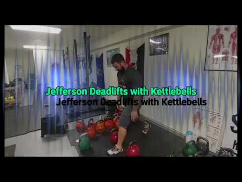 Building Muscle with Kettlebells : Jefferson Deadlifts 2 versions