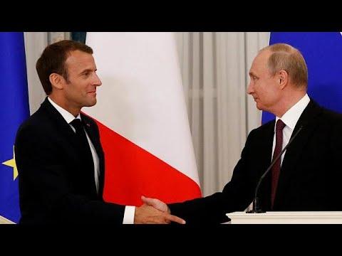 Saint Petersburg'da Putin-Macron zirvesi