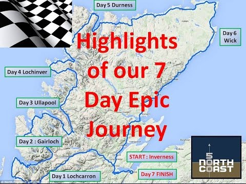 NC 500 Scotland : Highlights from our 7 day trip April 2016