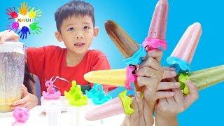 How to make ice-cream - Xavi ABCKids