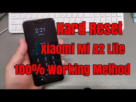 hard-reset-xiaomi-mi-a2-lite-m1805d1sg.-remove-pin,pattern,password-lock.