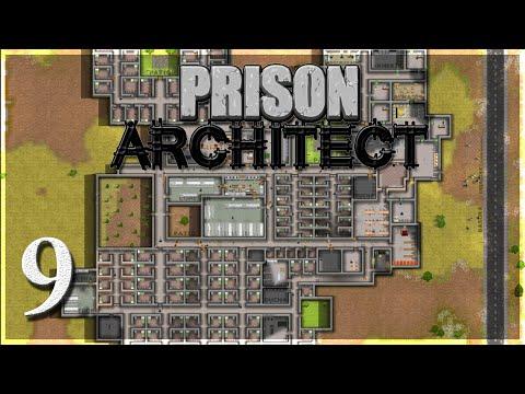 Prison Architect - Ep 9 - Silla eléctrica, tienda y ¡fugas!