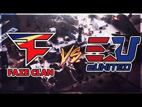 FaZe Clan vs eUnited (MLG Team Scrims)