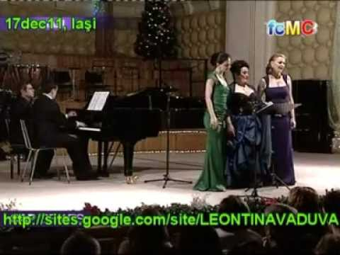 Leontina Vaduva, Ruxandra Donose & Teodora Gheorghiu (pe viu/live) - Noel - mix (21-17-19dec11)