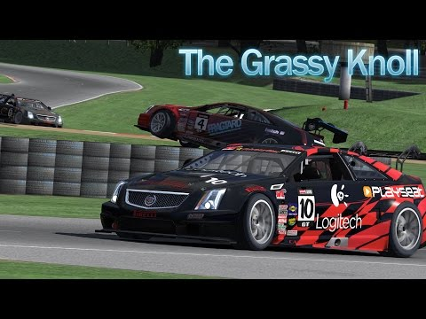 iRacing Sim Racing - Cadillac CTS-VR at Summit Point Raceway - Mixed results