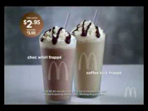 McDonalds - Frappés - Australian Ad 2011