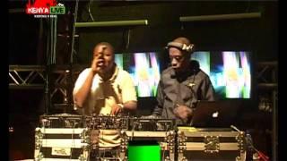 DJ John & DJ Hassan at KENYA LIVE Machakos Concert
