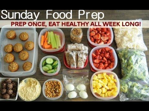 Planificaci n semanal de comidas youtube for Cocinar una tarde para toda la semana