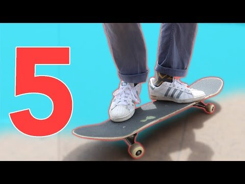 5 TRICKS YOU CAN LEARN BEFORE OLLIE!