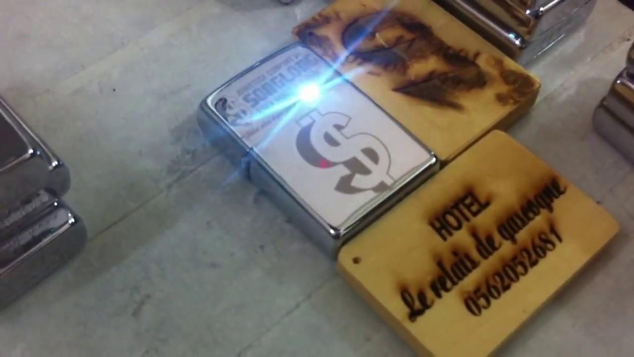 Khắc Bật Lửa Hộp quẹt Zippo bằng Laser tại Tphcm Hà Nội Đà Nẵng