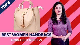 Top 6 Best Women Handbags in India With Price Ladies Handbag Reviews
