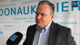 Ingolstadts neuer OB Christian Scharpf (SPD) über die Corona-Lage in der Stadt