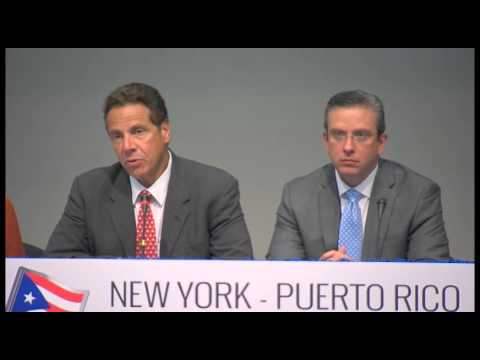 Governor Cuomo Attends Roundtable at The University of Puerto Rico Medical Sciences Campus