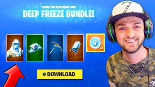 the NEW Fortnite Skin Bundle!