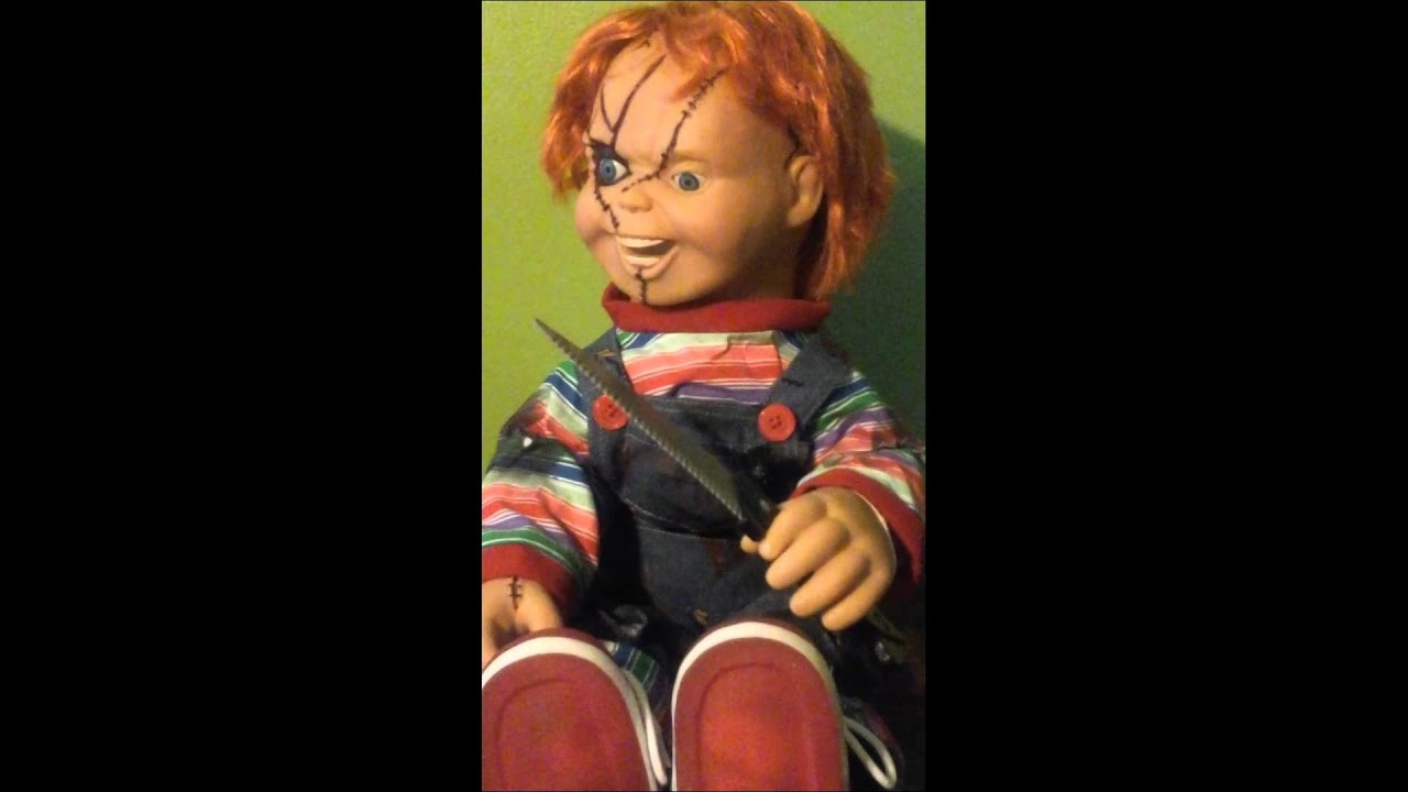 My New Talking Chucky Doll Spencers 2015 Youtube