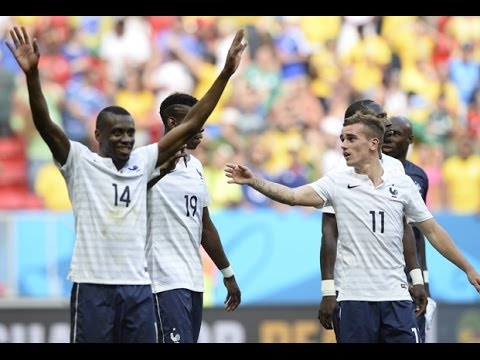 France-Nigeria (2-0) : réaction Matuidi et Griezmann à Brasilia