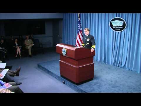 RADM John Kirby Pentagon Briefing