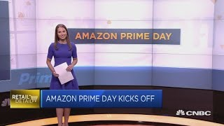Amazon Prime Day kicks off | Squawk Box Europe