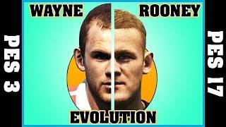 Wayne rooney evolution [pes 3 - pes 17]