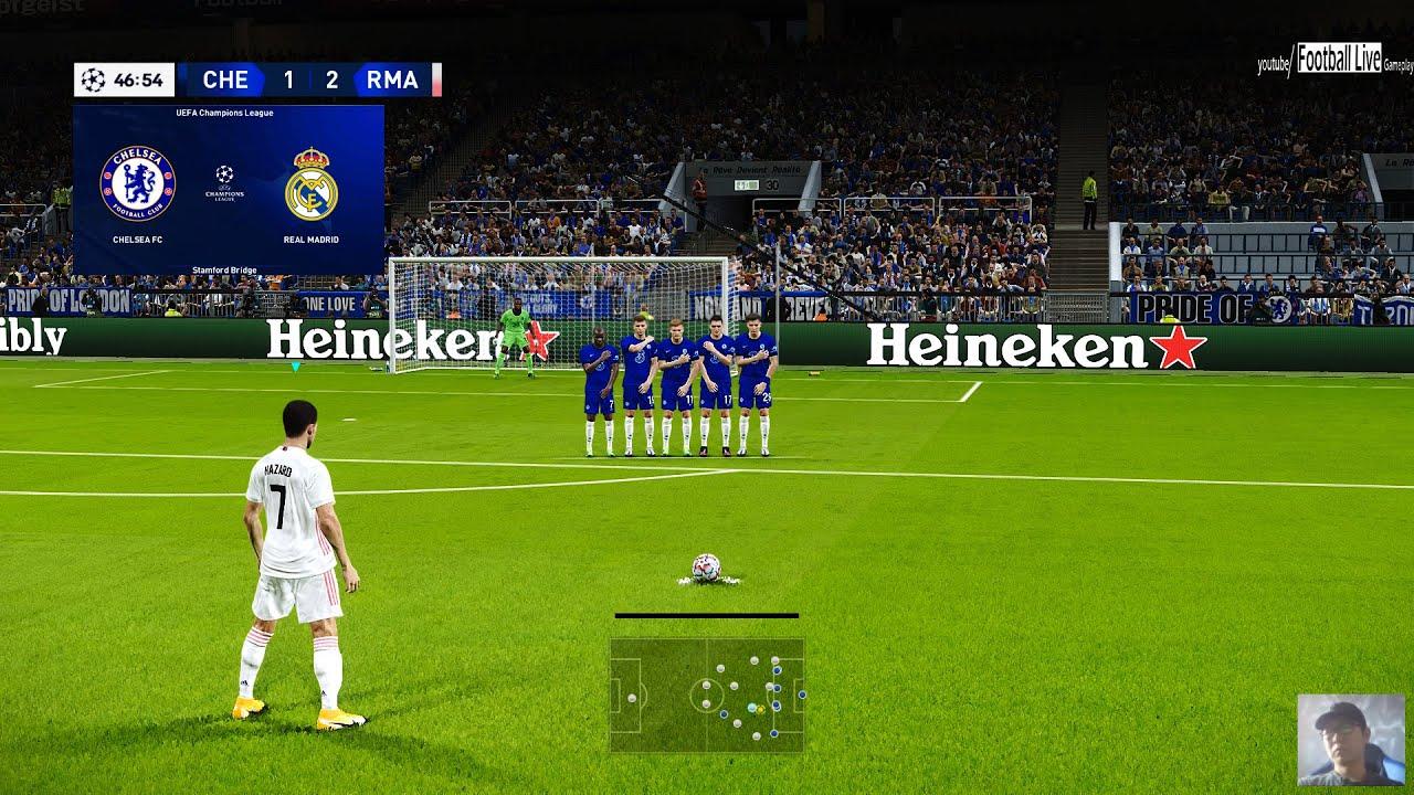 PES 2021 | Chelsea vs Real Madrid | UEFA Champions League ...
