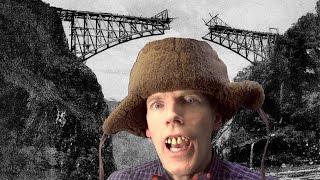 "Total Bridge Collapse! Tacoma Narrows ""Gallopin"