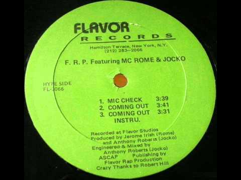 Flavor Rap Productions - Coming Out