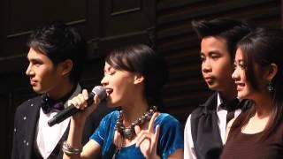 น องๆ jgm โชว ท งาน thaibex 2013 ณ ศ นย ส ร ก ต
