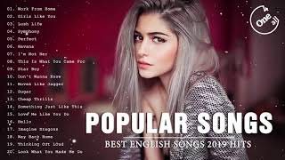 Top Hits 2019 - The Most Popular Of Pop Songs 2019 - Best English Songs 2019
