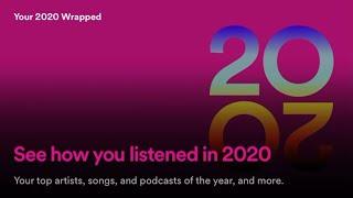 Spotify's 2020 Wrapped