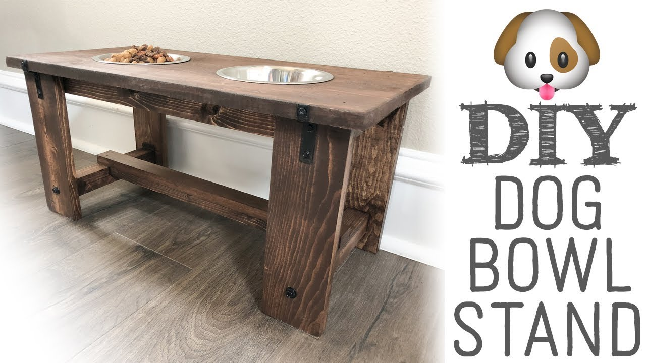 15 Diy Dog Bowl Stands How To Make