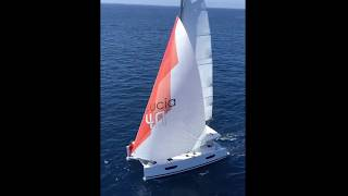Fountaine Pajot catamaran Lucia 40 sailing
