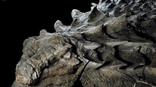 110 million-year-old dinosaur fossil so well preserved it looks like a STATUE
