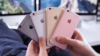 iPhone 6S Farbvergleich: Welches Modell ist das schönste? - felixba