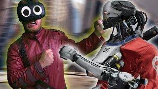 MAN VS ROBOTS!   Robo Recall (HTC Vive Virtual Reality)