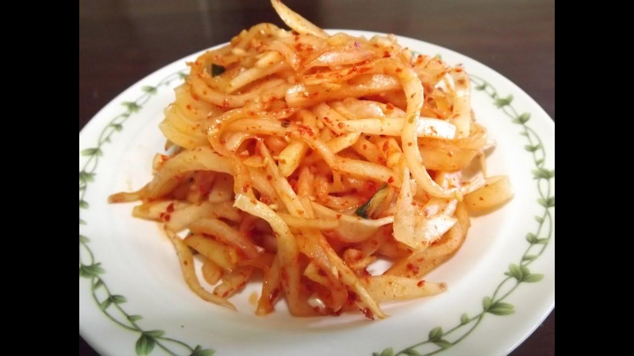 how to make korean radish
