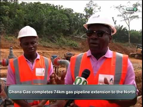 Ghana Gas extends pipeline to the North